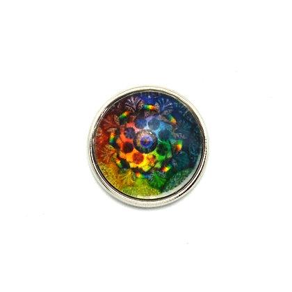 Mandala Rainbow Colors Snap