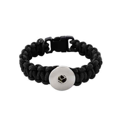 Paracord Bracelet Black