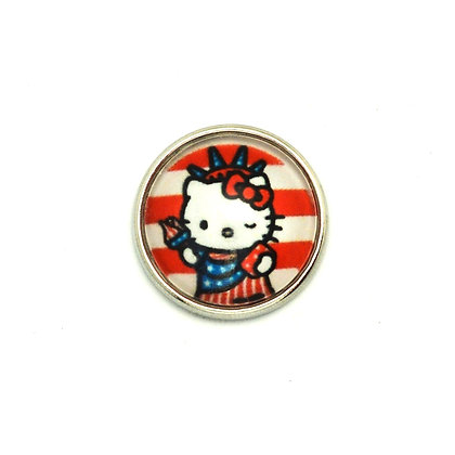 Hello Kitty Statue of Liberty Snap