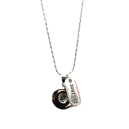 Snap Necklace with Journey Tag