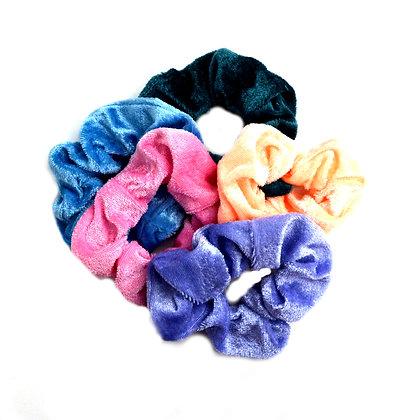 Scrunchies Velvet A Touch of Lavender Set of 5
