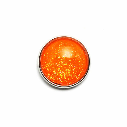 Bright Orange Sparkle Snap