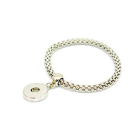 Silver Color Stretch Bracelet