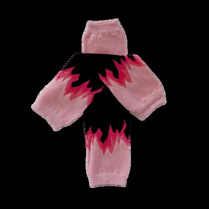 Flamin Pink Leg Warmers