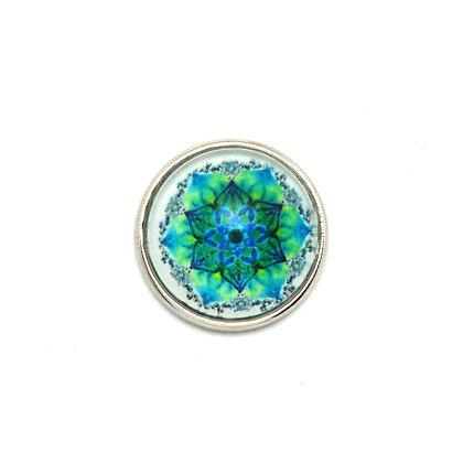 Mandala Blues & Greens Snap