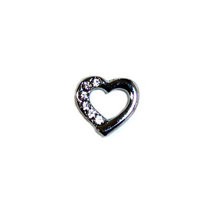 Rhinestone Heart Slider