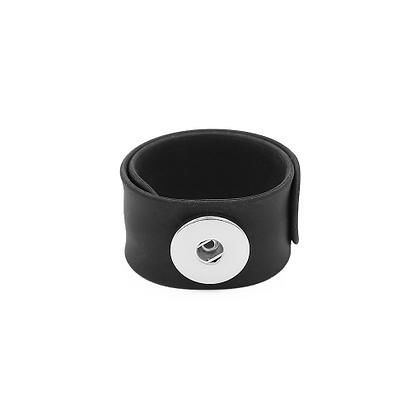 Black Slap and Snap Bracelet