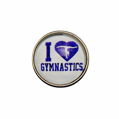 I Heart Gymnastics Snap