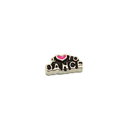 I Heart To Dance Charm