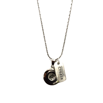 Snap Necklace with Create Tag