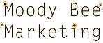 Logo for Moody Bee Marketing designs for Hullin' It Together