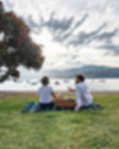 Picnic in Akaroa, when staying at French Bay House you can enjoy Akaroa harbour and all it has to offer. Stay at French Bay House boutique bed and breakfast accommodation in Akaroa, Banks Penisula, South Island, New Zealand. BnB. Akaroa B&B. Bed&Breakfast. Bed & Breakfast