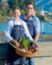 Take a class at the Akaroa Cooking School when you stay at French Bay House boutique bed and breakfast accommodation in Akaroa, Bank Peninsula, South Island, New Zealand. BnB, B and B.B&B. Bed&Breakfast. Bed & Breakfast