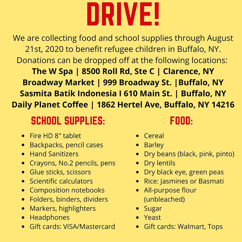 Food & School Supply Drive