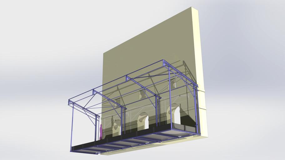 structure scène et décor