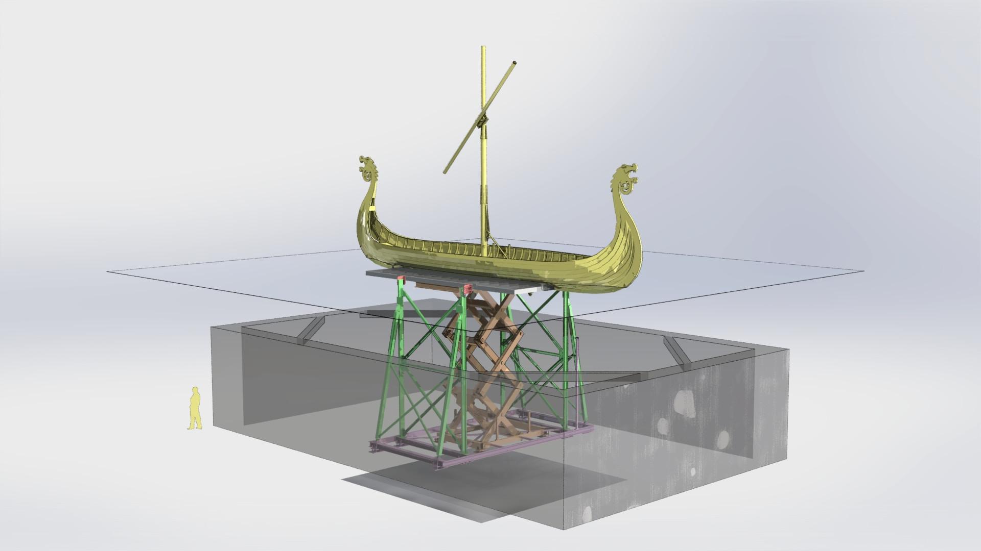1434M_structure décor sur table élévatri