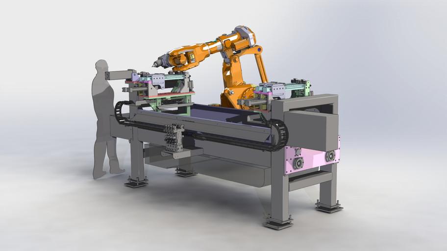centre d'usinage robotisé