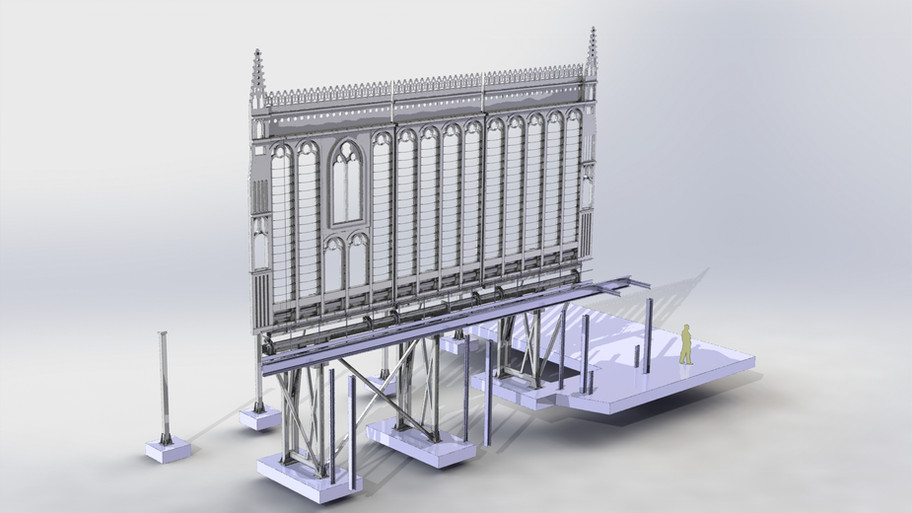 structures décors pivotantes