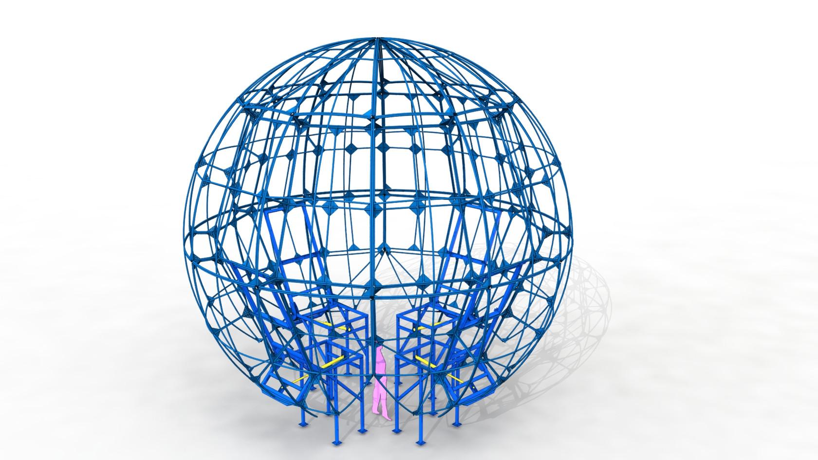 sphère support décor