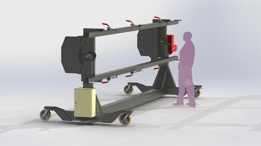 chariot de montage