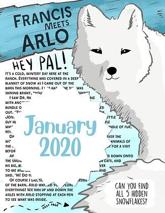 Arlo the Arctic Fox