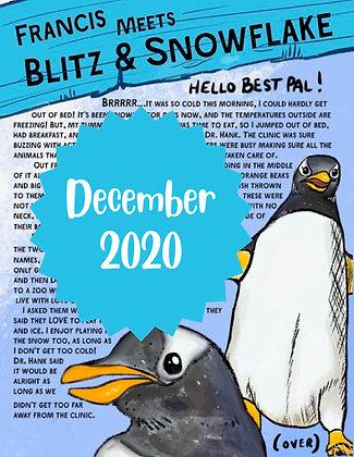 Blitz & Snowflake the Penguins