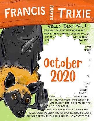 Trixie the Fruit Bat