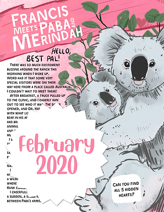 Paba and Merindah the Koalas