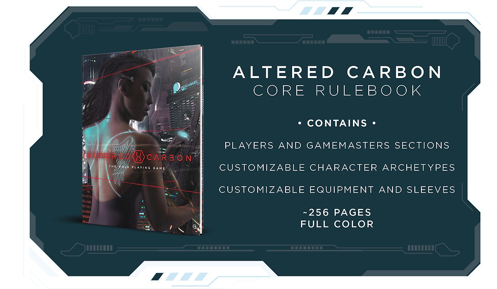 Altered Carbon is the trademark of Skyda