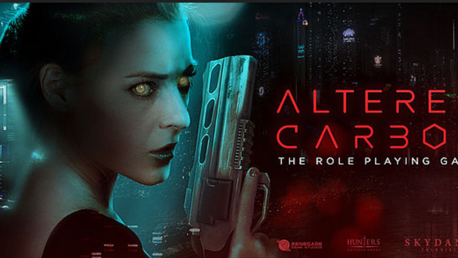 Hunters Entertainment Rolls the Dice with Altered Carbon Tabletop Role-Playing Game