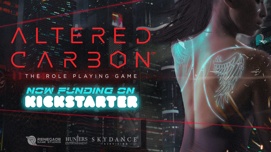 Altered Carbon RPG now on Kickstarter!