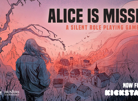 JUST LAUNCHED: Alice is Missing