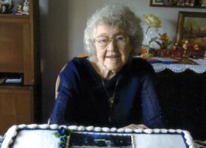 Vining woman to celebrate 100 years