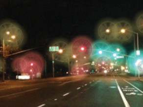 Ask the Expert: What are the streaks and halos I see around lights?