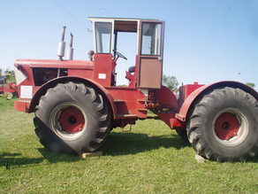'I decided to build a 4WD tractor'