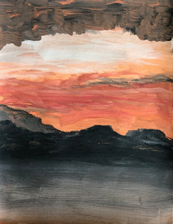 Volcanic Sky. SOLD.