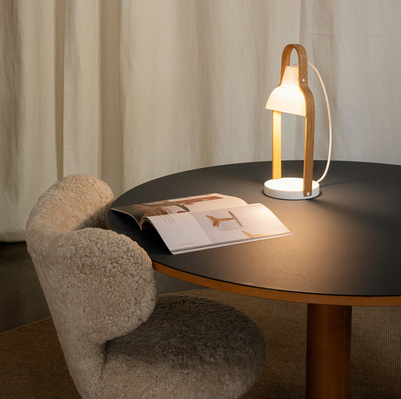 WNG chair and 16Plus lamp