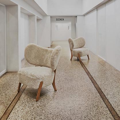 Mazo TMBO Lounge in sheepskin