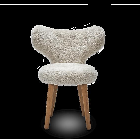 WNG chair in sheepskin