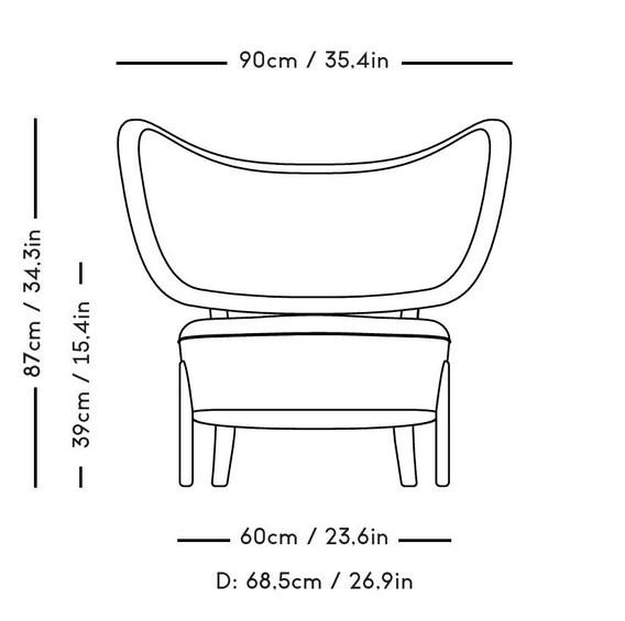 TMBO lounge with measurements