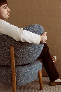Mazo TMBO Lounge in textile