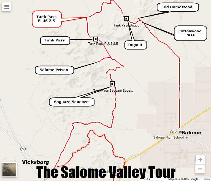 The Salome Valley Tour