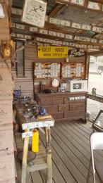 Founder Cabin east of Lake Havasu close