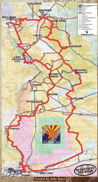 Arizona Peace Trail Guide
