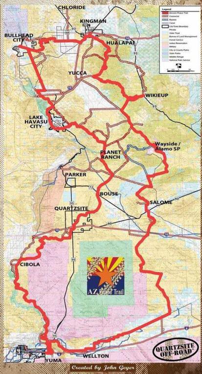 The Arizona Peace Trail