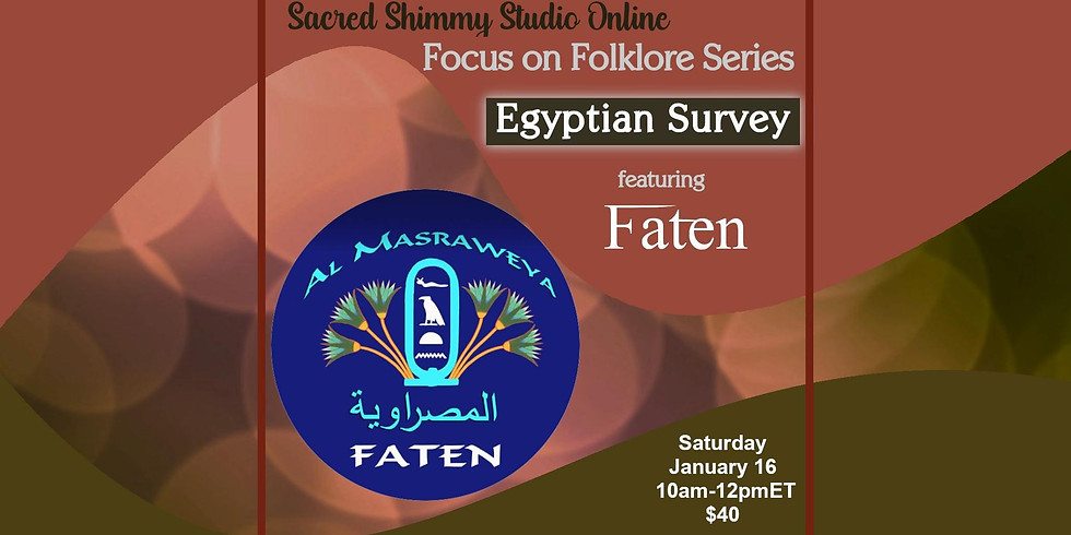 Focus on Folklore: Egyptian Survey with Faten