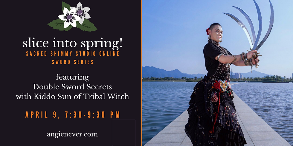 Slice Into Spring: Double Sword Secrets with Kiddo Sun of Tribal Witch