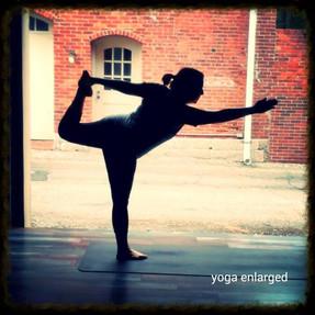Yoga Enlarged