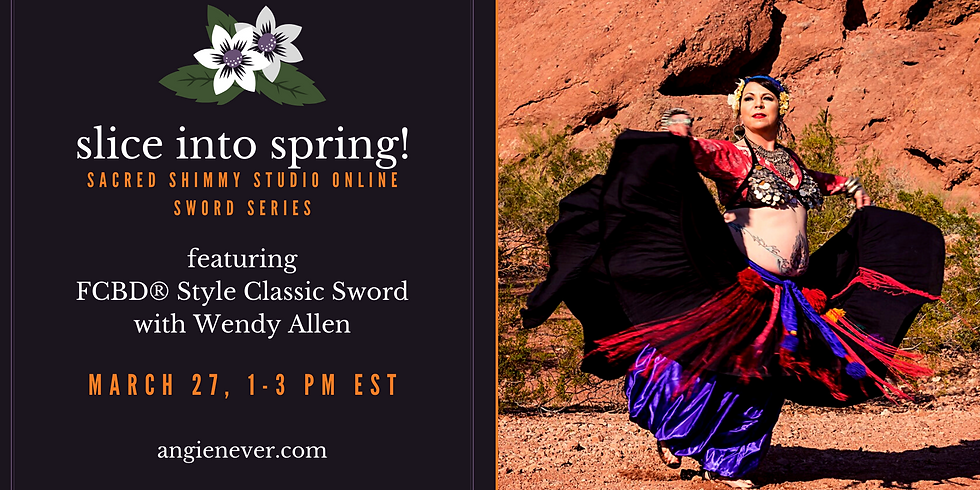 Slice Into Spring: FCBD Style Classic Sword with Wendy Allen