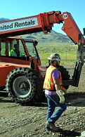 Construction Workers at the Tooele UT site